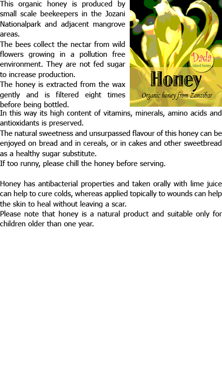 zanzibar honey blog