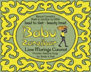 Babu LIME soap FRONT