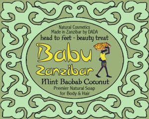 Babu MINT soap FRONT