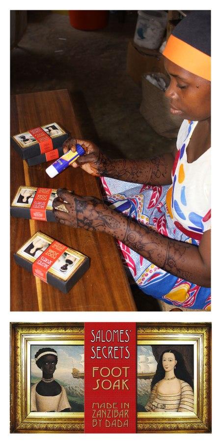 DADA Zanzibar Foot Soak www