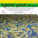 label pasta spinach